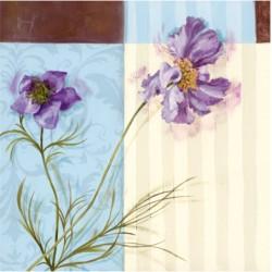 Serwetki Kwiat Fioletowy 33x33cm 20szt.