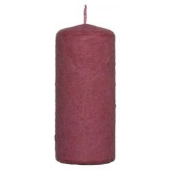 Świeca walec Aksamit 110/50 ciemno czerwony