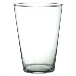 Wazon szklany d14 h20cm transparentny