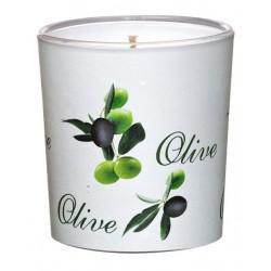 """Świeca w Szkle Sleeve """"Olive"""" (1 szt.)"""