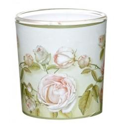 """Świeca w Szkle Sleeve """"Beauty Roses"""" (1 szt.)"""