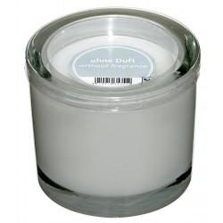 Świeca w szklanym cylindrze Heavy