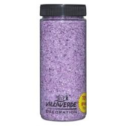 Piasek lustrzany 0,6-1,2 mm różowy  500 ml (około 620g)