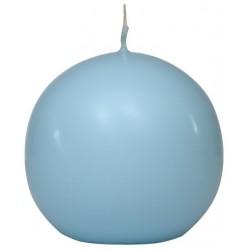Swieca kula ok. d80mm jasnoniebieska w opakowaniu