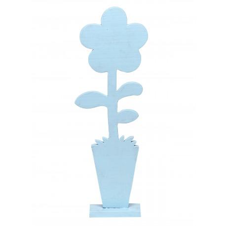 Drewniany Kwiat Pastelowy