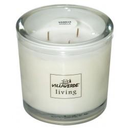 Świeca Zapachowa w szkle | Heavy Living | Wanilia| 70 H