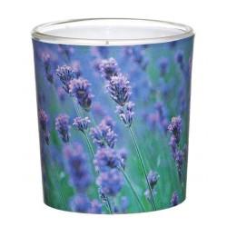 Świeca Zapachowa w Szkle | Sleeve | Wanilia-Lawenda | 24 H