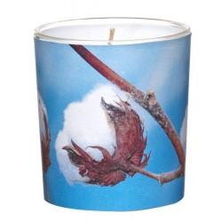 Świeca Zapachowa w Szkle | Sleeve | Świeża Bawełna| 24 H