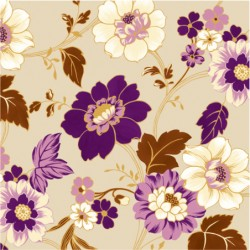 Serwetki Autumn Charm violet 33x33 cm 20szt.