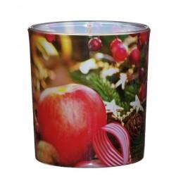 Świeca Zapachowa w Szkle | Sleeve | Pieczone Jabłko| 24 H