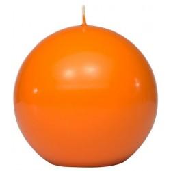 Swieca kula ok. d100mm pomaranczowa w opakowaniu