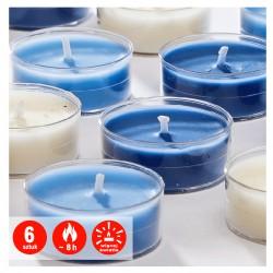 Podgrzewacze transparentne zapachowe | Jumbo | Wellness| 6 szt. | 8 H
