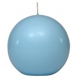 Swieca kula ok. d100mm jasnoniebieska w opakowaniu